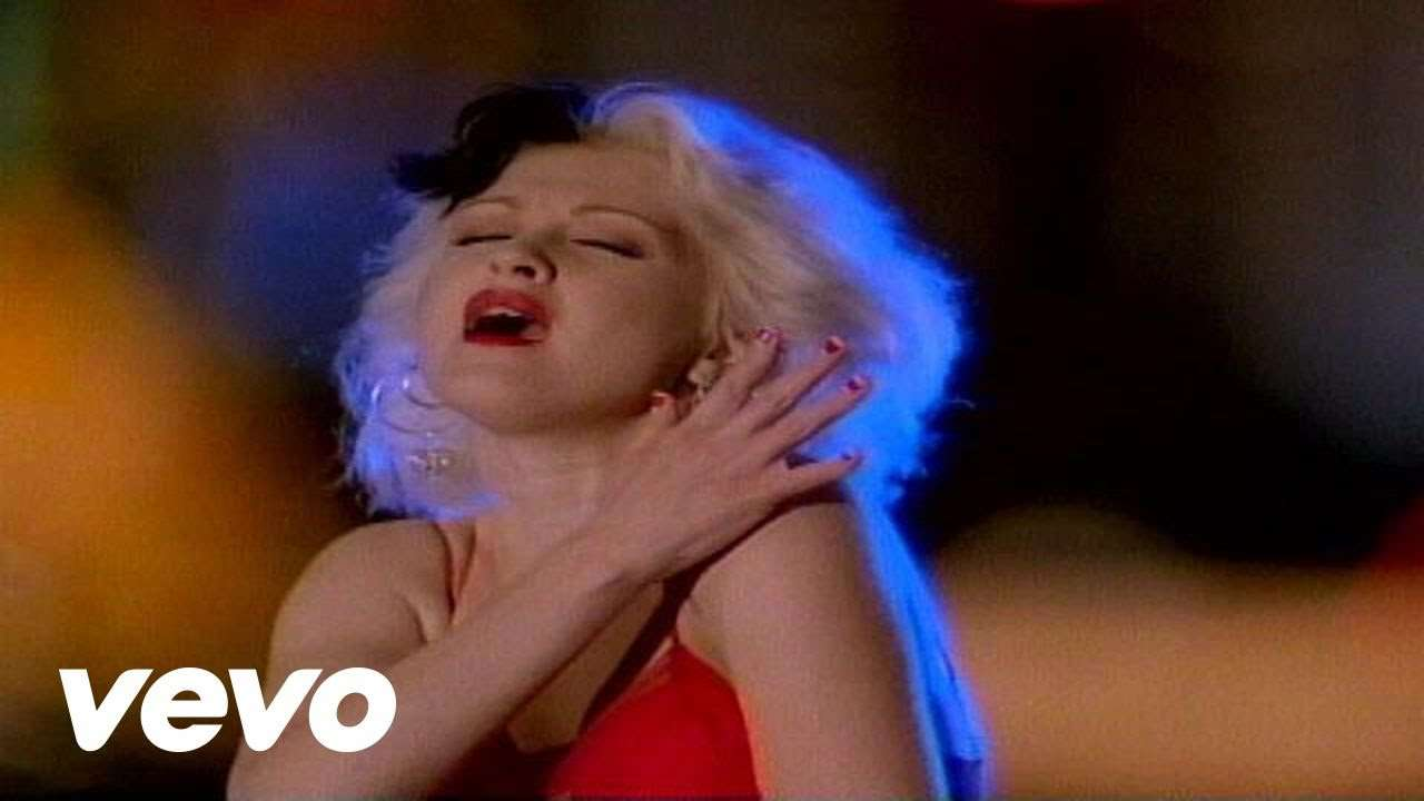 Cyndi Lauper - I Drove All Night - YouTube