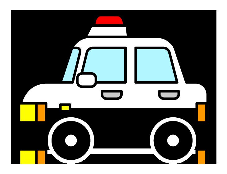 パトカーと乗用車衝突、2人軽傷…警察官「間違えてアクセルを踏んでしまった」