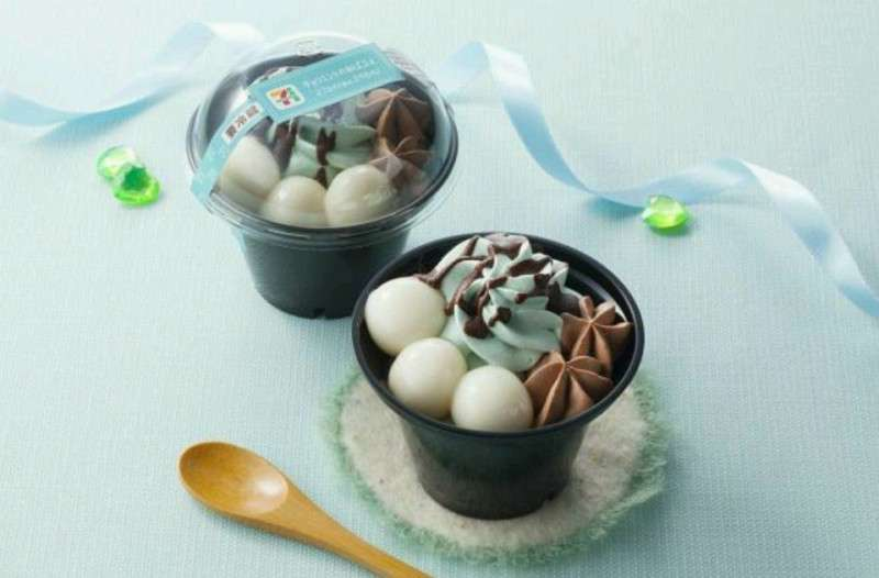 好きなチョコミント味のお菓子、デザート