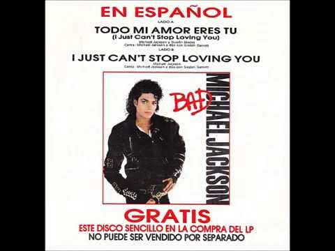 I Just Can't Stop Loving You (Spanish)  -   Michael Jackson & Siedah Garrett - YouTube