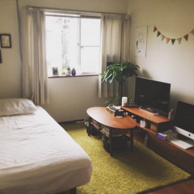 狭いお部屋のインテリアを語りたい!
