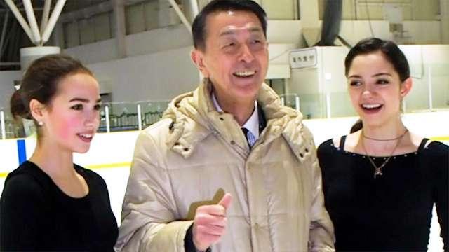 メドベージェワ・ザギトワ「絶好調」 新潟で合宿(朝日新聞デジタル) - Yahoo!ニュース