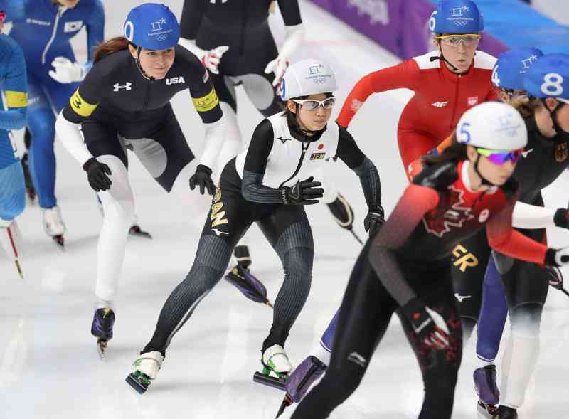 <五輪スケート>高木菜が金メダル マススタート (毎日新聞) - Yahoo!ニュース