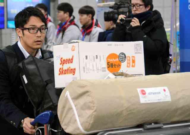 それって勝負メシ?韓国入り日本選手団、段ボールには… (朝日新聞デジタル) - Yahoo!ニュース
