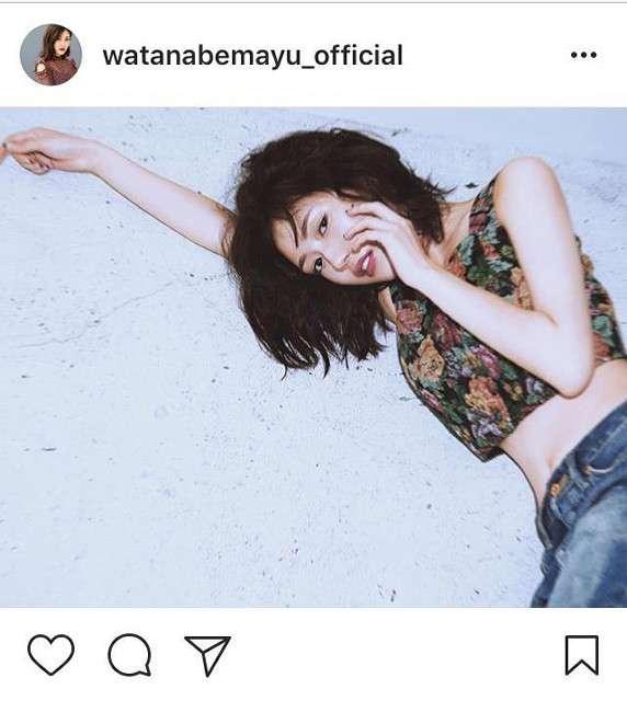 渡辺麻友、インスタ開設「マイペースにやっていきます」ファン歓喜で600件コメント殺到