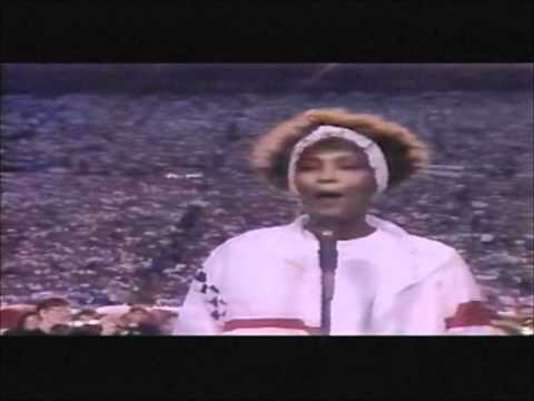 Whitney Houston - Star Spangled Banner - YouTube