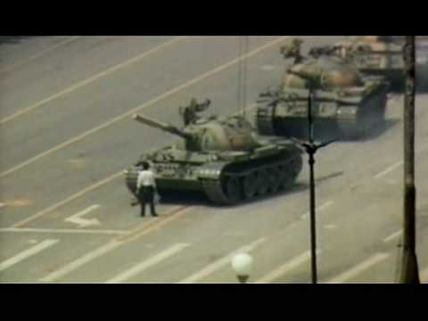 Tank Man (now with more raw footage) - YouTube