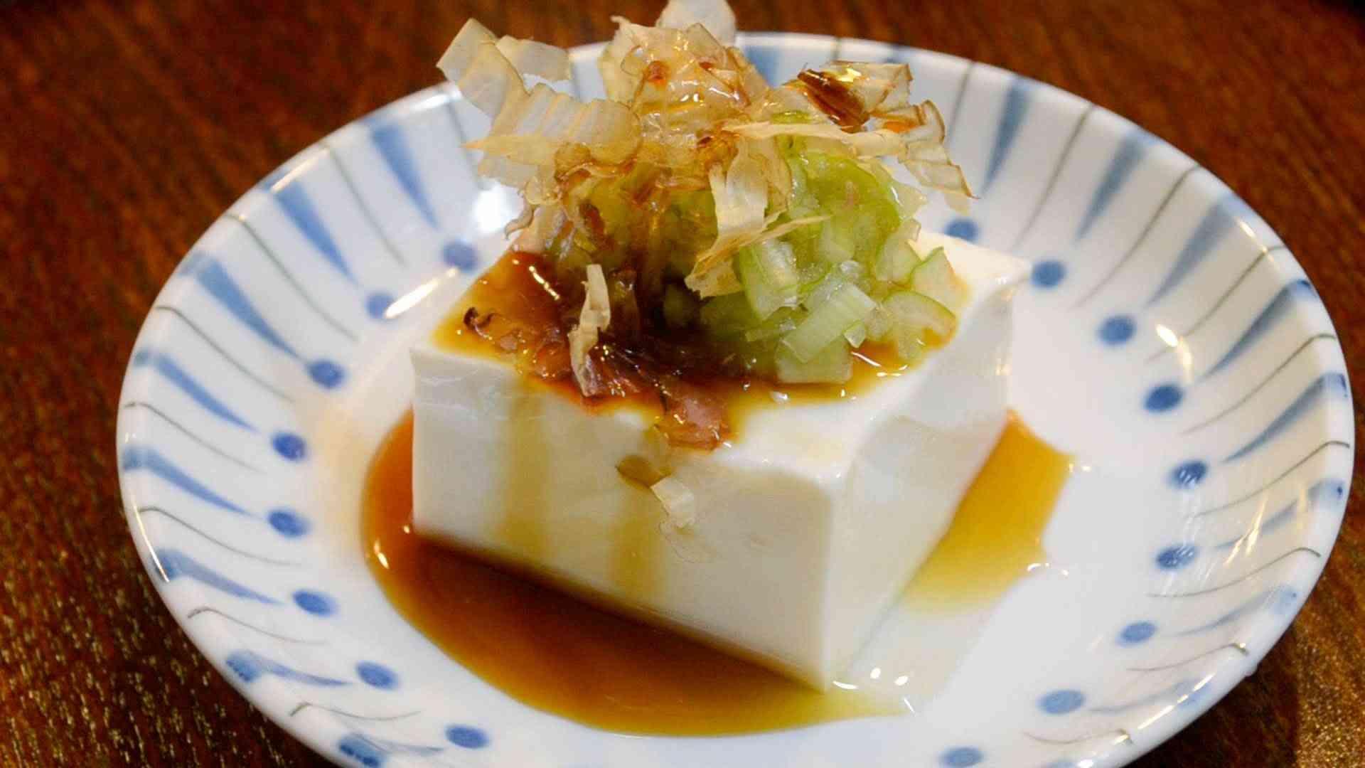 冷奴 おいしい食べ方  How to eat cold tofu - YouTube