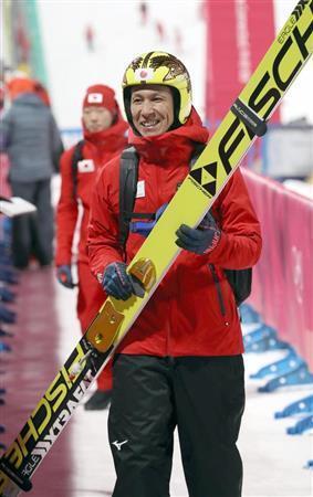 葛西紀明 氷点下14度 40分取り残される 練習後「来るはずのバスが来ない!」  (産経新聞) - Yahoo!ニュース