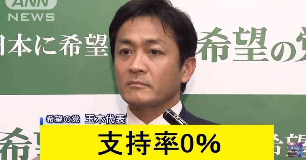 希望の党の支持率が0%に | netgeek