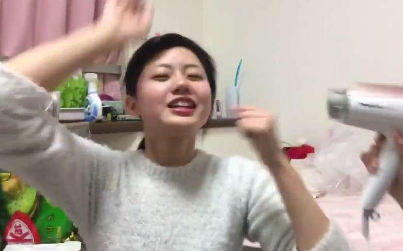 【STU48】台風中継の真似をする瀧野由美子がノリノリで面白いw   STU48航海日誌