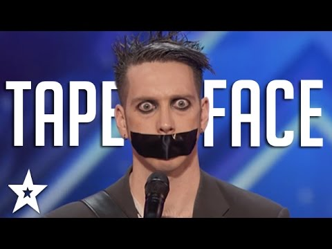 Tape Face Auditions & Performances | America's Got Talent 2016 Finalist - YouTube