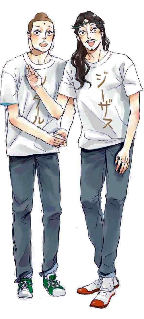 実写版『聖☆おにいさん』に松山ケンイチ&染谷将太   福田雄一監督「ただただ幸せ」
