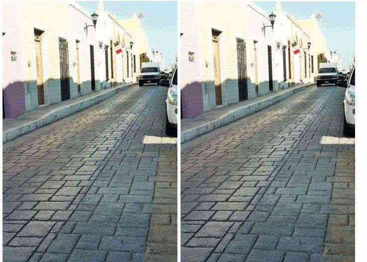 完全に同じ写真なのに見れば見るほど異なる角度から撮影したものに見えてくる不思議な写真