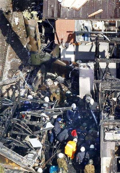 【自衛隊ヘリ墜落】墜落ヘリから遺体発見 行方不明の操縦士か  - 産経ニュース