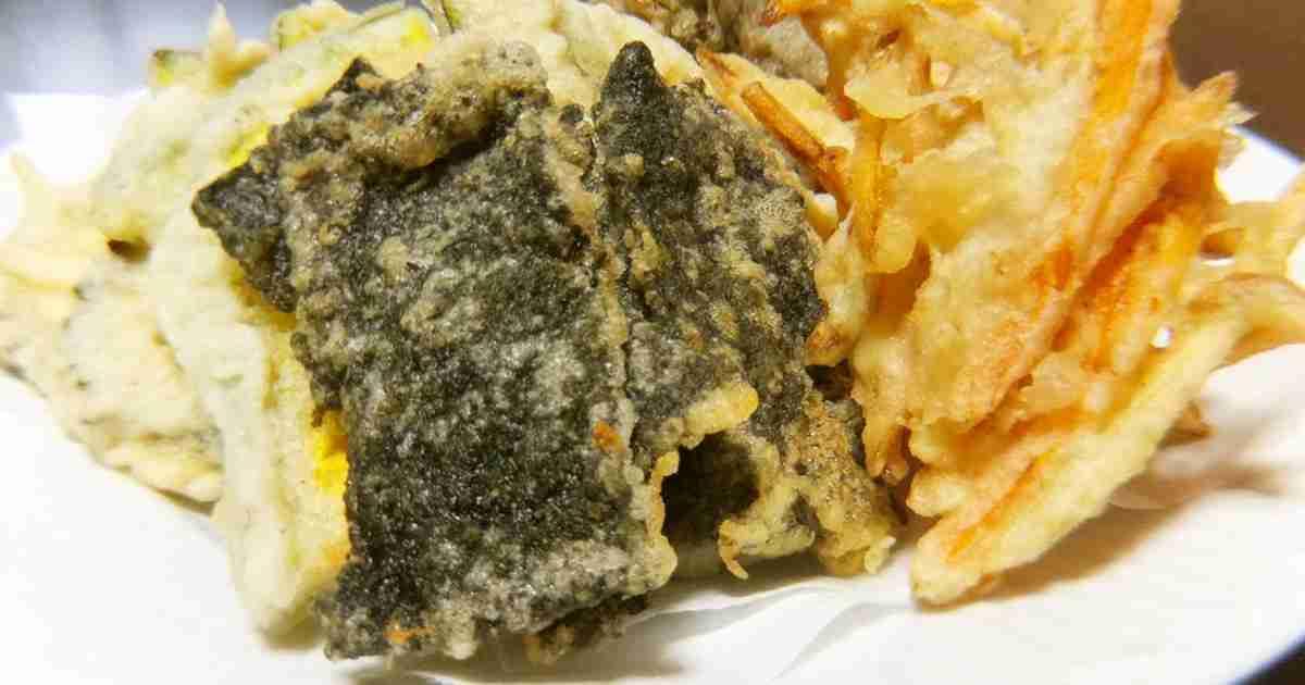 *我が家でメイン級♡海苔の天ぷら* by おにぎりママ 【クックパッド】 簡単おいしいみんなのレシピが284万品