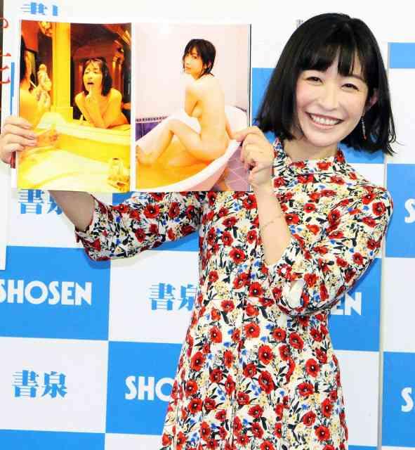 小野真弓、36歳限界露出写真集 結婚は「気配が何もなくて…」 : スポーツ報知