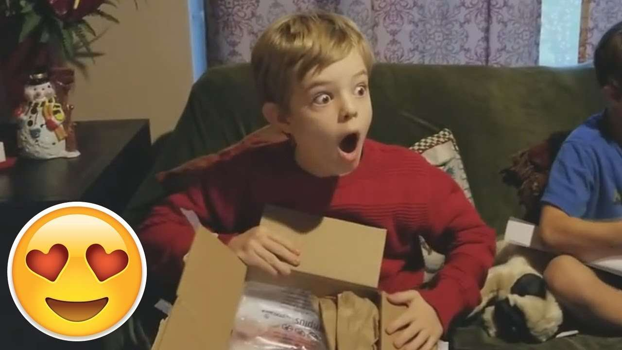 Kids Receiving Nintendo Switch For Christmas Compilation #1 January 2018 - YouTube