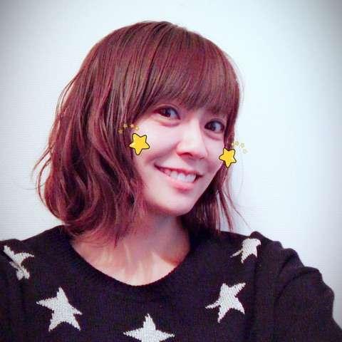 小林麻耶の髪型チェンジに絶賛