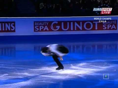 2007   2008   Worlds   Exhibitions   Johnny Weir   Ave Maria - YouTube