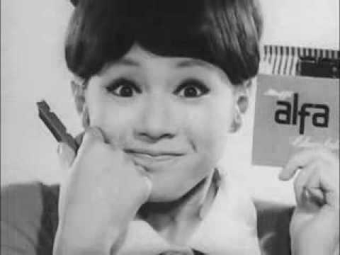 明治製菓 CM - アルファ チョコレート -  アッという評判 - 1965 - YouTube