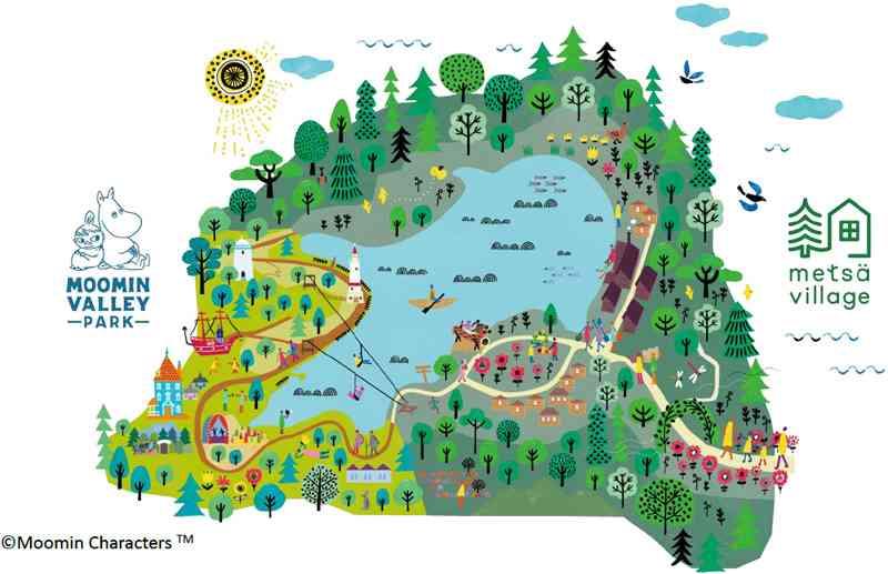 ムーミンテーマパーク「メッツァビレッジ」オープン日が2018年11月に決定