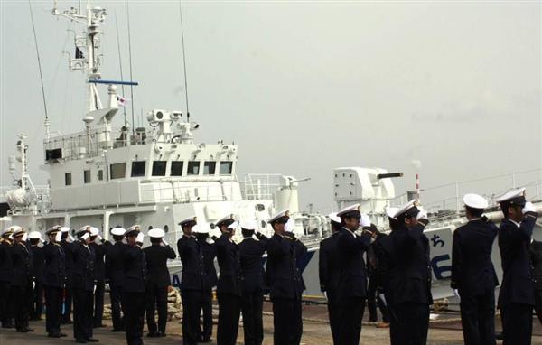 海保に新型巡視船「ともり」と「とぐち」引き渡し 尖閣諸島周辺を警備  - 産経ニュース
