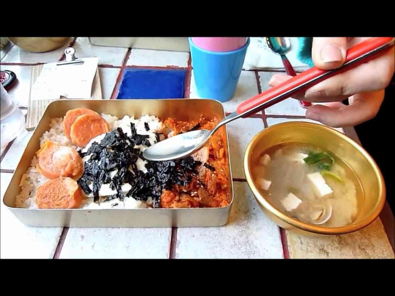 韓国の弁当は「んこ」 グロ注意!!food culture in korea - YouTube