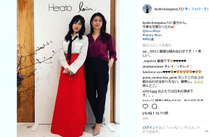 長谷川京子、ママ友の井川遥と2ショットにファン歓喜「最強な組み合わせです」(1ページ目) - デイリーニュースオンライン