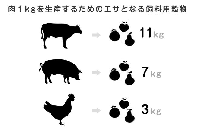 肉を食べる頻度