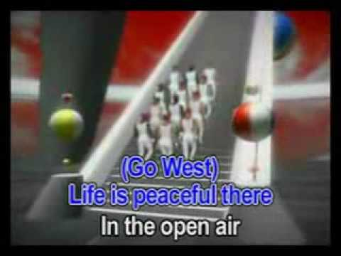 Go West - Pet Shop Boys  -  Karaoke - YouTube