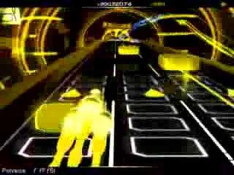 SPITZ - Cherry (Polysics remix) (Audiosurf) - YouTube