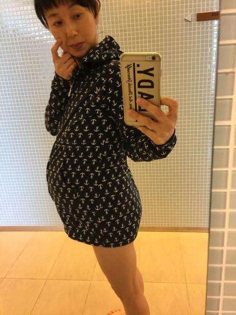 東尾理子、妊娠9ヶ月のぽっこりおなか公開「すごい息切れ」 - Ameba News [アメーバニュース]
