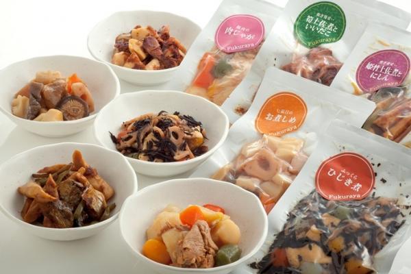 常温で90日保存可能な和風惣菜レトルト食品15袋入り - 金沢ふくら屋