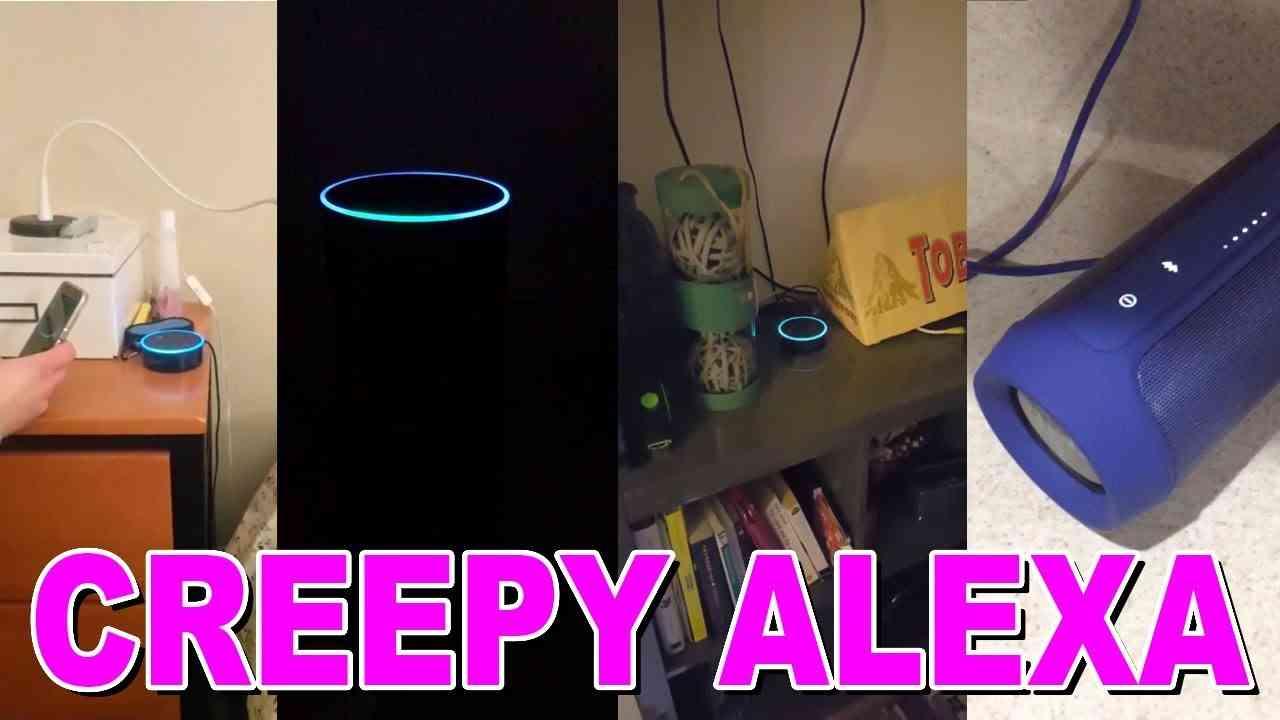 Alexa randomly laughing compilation - YouTube