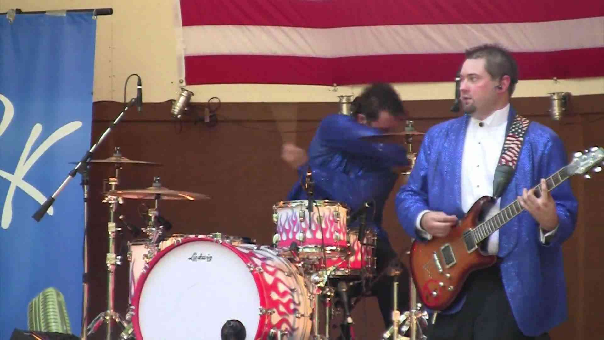 The Mad Drummer - Steve Moore - Rick K - Old Time Rock N Roll - YouTube