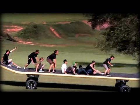 World's Largest Skateboard Disaster - Woodward PA - YouTube