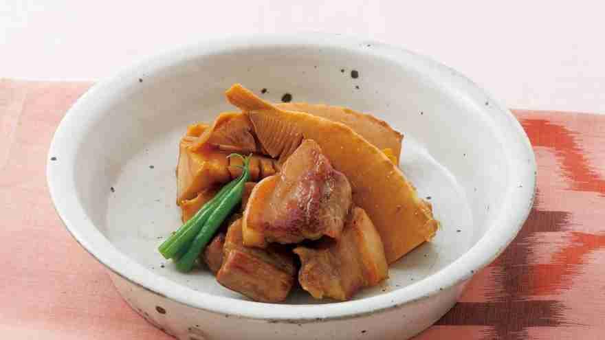 たけのこと豚バラの炊いたん レシピ 大原 千鶴さん|【みんなのきょうの料理】おいしいレシピや献立を探そう