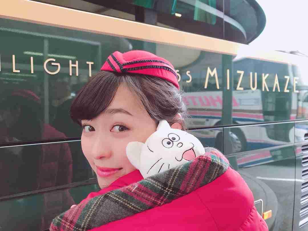 """福原遥 on Instagram: """"タマとお散歩中"""
