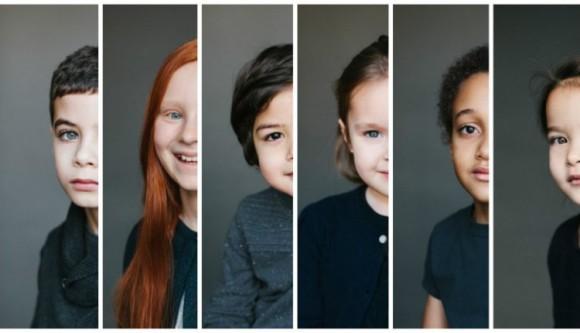 人種も民族も越えた美しさ。異なる国の両親から生まれたダブル(ハーフ)の子どもたちのポートレート : カラパイア