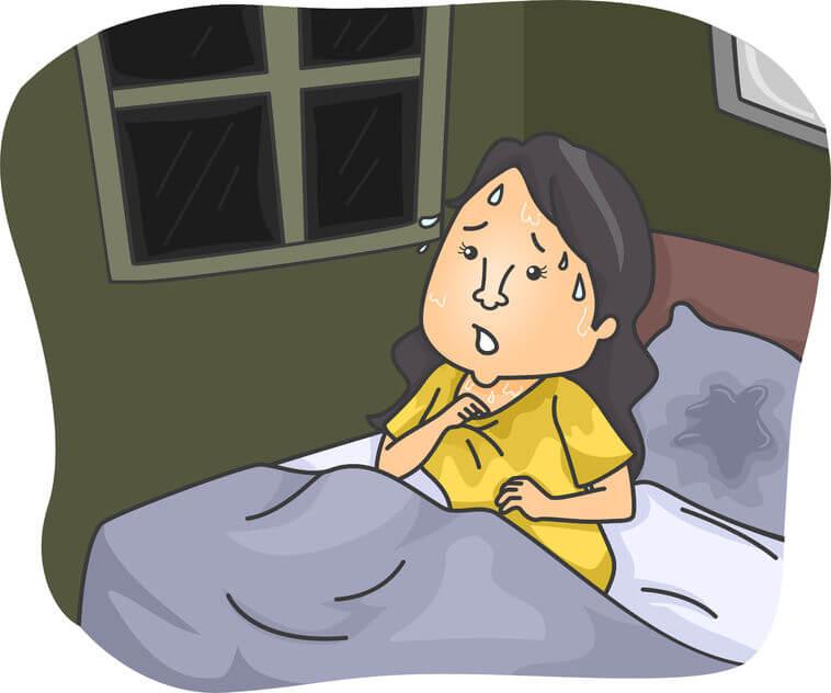 寝汗が酷い方いらっしゃいますか?