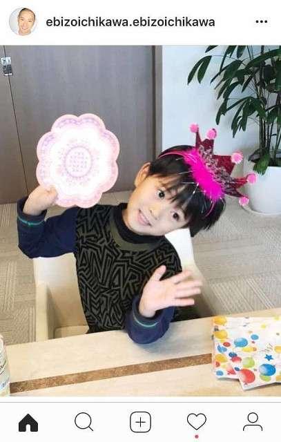 海老蔵、長男・勸玄くんの5歳誕生日を祝福 ファンからは「ますますママにそっくり」の声 : スポーツ報知