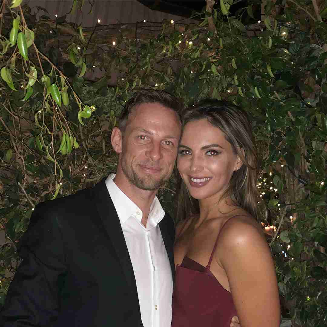 "Jenson Button on Instagram: ""Happy Valentine's Day my darling @brittnyward Love you with all my heart. ❤️ #happychappy"""