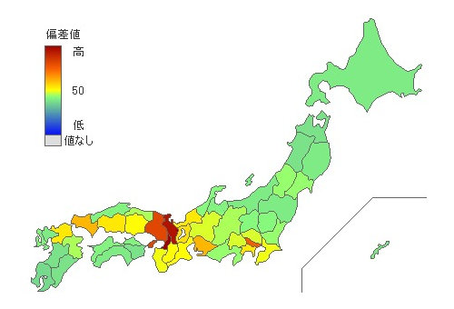 在日韓国・朝鮮人 [ 2015年第一位 大阪府 ] 都道府県別統計とランキングで見る県民性 [とどラン]