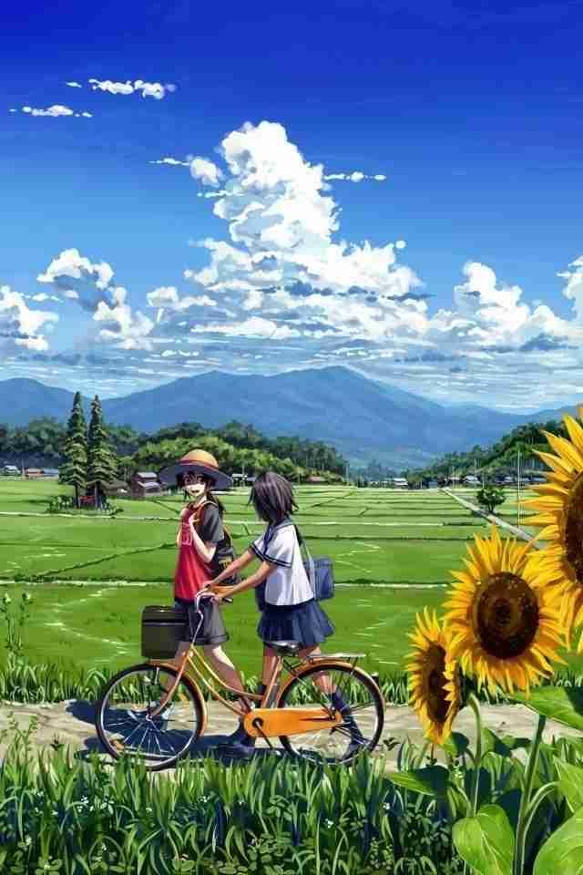 夏の雰囲気が感じられるアニメ