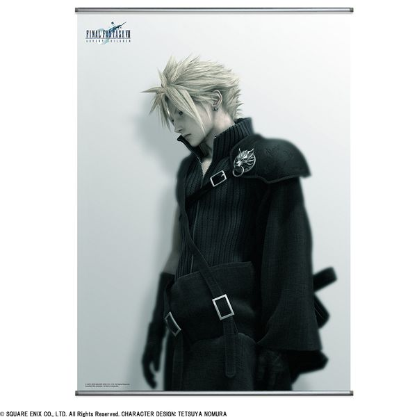 FINAL FANTASY VII ADVENT CHILDREN Wall Scroll Poster クラウド|スクウェア・エニックス e-STORE | スクウェア・エニックス e-STORE
