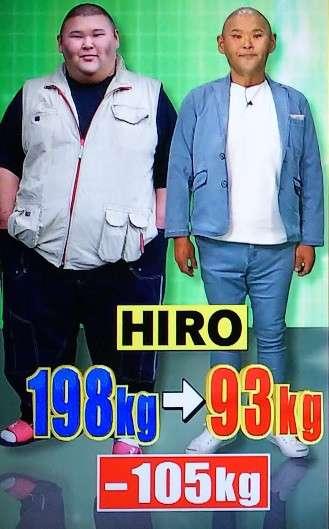HIRO 救急搬送で「生きる確率20%」と宣告…MAX時より100キロ減