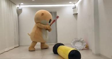 「子どもに見せられない」 荒ぶるコツメカワウソの妖精「ちぃたん☆」にハマる人続出