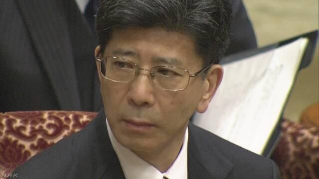 佐川氏「国有地売却に首相や夫人などの指示なし」 | NHKニュース