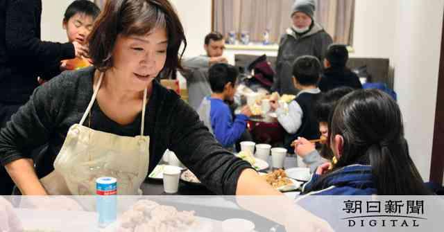 ダルビッシュママが子ども食堂 地域ボランティアと協力:朝日新聞デジタル